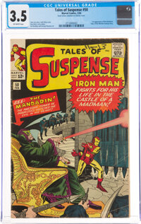 Tales of Suspense #50 (Marvel, 1964) CGC VG- 3.5 Off-white pages