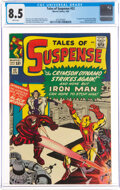 Silver Age (1956-1969):Superhero, Tales of Suspense #52 (Marvel, 1964) CGC VF+ 8.5 White pages....