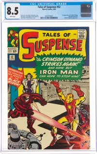 Tales of Suspense #52 (Marvel, 1964) CGC VF+ 8.5 White pages