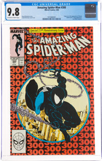 The Amazing Spider-Man #300 (Marvel, 1988) CGC NM/MT 9.8 Off-white to white pages