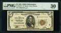 Small Size:Federal Reserve Bank Notes, Fr. 1850-C* $5 1929 Federal Reserve Bank Star Note. PMG Very Fine 30.. ...