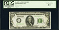 Fr. 2151-A $100 1928A Dark Green Seal Federal Reserve Note. PCGS Very Choice New 64