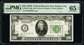 Small Size:Federal Reserve Notes, Fr. 2052-J $20 1928B Dark Green Seal Federal Reserve Note. PMG Gem Uncirculated 65 EPQ.. ...
