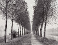 Photographs, Liliane de Cock (American, 1939-2013). Trees and Canal near Bruges, Belgium. Gelatin silver print. 15-1/8 x 19-1/2 inche...
