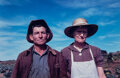 Photographs, Russell Lee (American, 1903-1986). Jim Norris and Wife, Homesteaders, Pie Town, New Mexico, 1940. Dye transfer print, pr...