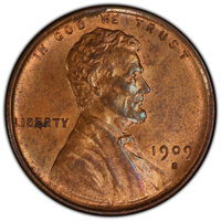 1909-S 1C VDB MS63 Red and Brown PCGS. PCGS Population: (793/3127 and 3/27+). NGC Census: (395/1371 and 1/4+). CDN: $1,5...