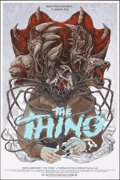 Movie Posters:Horror, The Thing, AP 24/44 by Randy Ortiz (Mondo, 2013). Mint. Hand Signed and Numbered Artist's Proof of a Limited Edition Screen ...