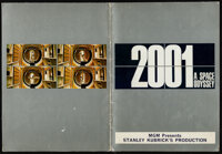 """2001: A Space Odyssey (MGM, 1968). Very Fine-. British Program (26 Pages, 16"""" X 7.25""""). Science Fiction"""