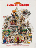 """Movie Posters:Comedy, Animal House (MCA Records, 1978). Rolled, Fine/Very Fine. Soundtrack Promotional Poster (18"""" X 24"""") Rick Meyerowitz Artwork...."""