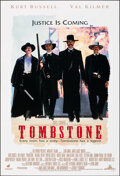 """Movie Posters:Western, Tombstone (Buena Vista, 1993). Rolled, Very Fine+. One Sheet (27"""" X 40"""") DS. Western.. ..."""