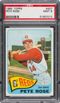 Baseball Cards:Singles (1960-1969), 1965 Topps Pete Rose #207 PSA Mint 9 - Only Two Higher!