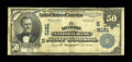 National Bank Notes:Kentucky, Louisville, KY - $50 1902 Plain Back Fr. 682 The LouisvilleNational Banking Company Ch. # (S)5161. ...