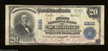 National Bank Notes:Tennessee, McMinnville, TN - $20 1902 Plain Back Fr. 657 The First ...