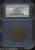 1786 COPPER New Jersey Copper, Narrow Shield XF40 Details, Planchet Flaw, Corroded, NCS....(PCGS# 496)