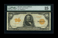 Large Size:Gold Certificates, Fr. 1199 $50 1913 Gold Certificate PMG Very Fine 25....