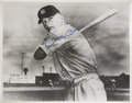 Autographs:Letters, Mickey Mantle Signed Large Photograph. The same image as the 1951Bowman Mickey Mantle card, has been signed by the Commerc...