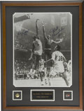 Autographs:Photos, Bill Russell and Wilt Chamberlain Large Signed Photograph. Two ofthe greatest basketball players of all time, Bill Russell...