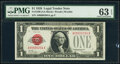 Small Size:Legal Tender Notes, Low Serial 204 Fr. 1500 $1 1928 Legal Tender Note. PMG Cho...
