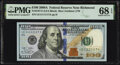 Small Size:Federal Reserve Notes, Near Solid Serial Number 11111117 Fr. 2187-E $100 2009A Fe...