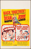 """Movie Posters:Sports, The Caddy/You're Never Too Young Combo & Other Lot (Paramount, R-1964). Overall: Fine/Very Fine. Window Cards (2) (14"""" X 22""""... (Total: 2 Items)"""