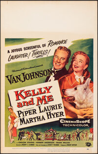 """Kelly and Me & Other Lot (Universal International, 1957). Overall: Very Fine. Window Cards (3) (14"""" X 22"""")..."""