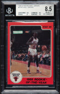 """Basketball Cards:Singles (1980-Now), 1986 Star Michael Jordan """"1985 Rookie of the Year"""" #6 BGS NM-MT+ 8.5...."""