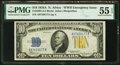 Small Size:World War II Emergency Notes, Fr. 2309 $10 1934A North Africa Silver Certificate. PMG Ab...