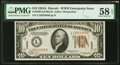 Small Size:World War II Emergency Notes, Fr. 2303 $10 1934A Hawaii Federal Reserve Note. PMG Choice...