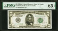 Small Size:Federal Reserve Notes, Fr. 1951-H $5 1928A Federal Reserve Note. PMG Gem Uncirculated 65 EPQ.. ...