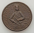 Betts Medals, 1739 Admiral Vernon Medal, Fort Chagre, Betts-281, Adams-Chao FCv 6-F, R.7, XF, Uncertified....