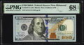 Small Size:Federal Reserve Notes, Near Solid Serial Number 11111116 Fr. 2187-E $100 2009A Fe...
