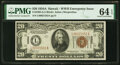 Small Size:World War II Emergency Notes, Fr. 2305 $20 1934A Hawaii Federal Reserve Note. PMG Choice...