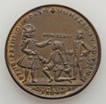 Betts Medals, 1739 Admiral Vernon Medal, Porto Bello, Betts-308, Adams-Chao PBvlb 1-A, R.6, AU, Uncertified....