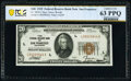 Fr. 1870-L $20 1929 Federal Reserve Bank Note. PCGS Banknote Choice Unc 63 PPQ