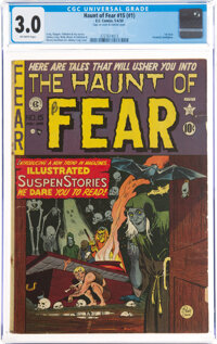 Haunt of Fear 15 (#1) (EC, 1950) CGC GD/VG 3.0 Off-white pages