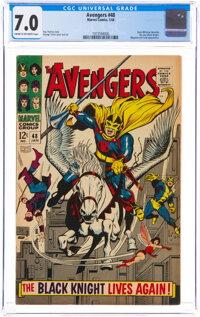 The Avengers #48 (Marvel, 1968) CGC FN/VF 7.0 Cream to off-white pages