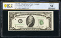 Fr. 2010-D $10 1950 Federal Reserve Note. PCGS Banknote Choice AU 58