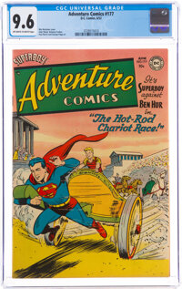 Adventure Comics #177 (DC, 1952) CGC NM+ 9.6 Off-white to white pages