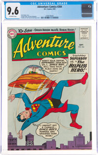 Adventure Comics #264 (DC, 1959) CGC NM+ 9.6 Off-white pages
