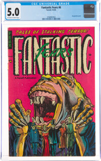 Fantastic Fears #6 (Farrell, 1954) CGC VG/FN 5.0 Off-white to white pages