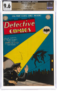 Detective Comics #150 The Promise Collection Pedigree (DC, 1949) CGC NM+ 9.6 Off-white to white pages