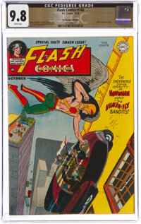 Flash Comics #100 The Promise Collection Pedigree (DC, 1948) CGC NM/MT 9.8 White pages