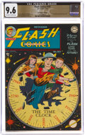 Golden Age (1938-1955):Superhero, Flash Comics #101 The Promise Collection Pedigree (DC, 1948) CGC NM+ 9.6 Off-white to white pages....