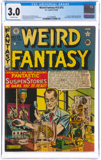 Weird Fantasy 13 (#1) (EC, 1950) CGC GD/VG 3.0 Off-white pages