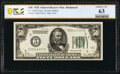 Small Size:Federal Reserve Notes, Fr. 2100-E $50 1928 Federal Reserve Note. PCGS Banknote Choice Unc 63.. ...