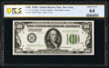 Fr. 2151-B $100 1928A Federal Reserve Note. PCGS Banknote Choice Unc 64