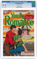 Silver Age (1956-1969):Romance, Young Romance #129 (DC, 1964) CGC NM 9.4 Off-white to white pages....