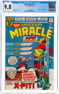 Mister Miracle #2 (DC, 1971) CGC NM/MT 9.8 White pages