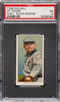 Baseball Cards:Singles (Pre-1930), 1909-11 T206 Old Mill Cy Young (Glove Shows) PSA EX 5. ...