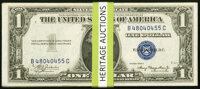 Fr. 1608 $1 1935A Silver Certificates. Forty Examples. Crisp Uncirculated or Better. ... (Total: 40 notes)